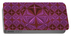 Symmetrical Pattern, Kaleidoscope Portable Battery Charger