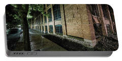 Portable Battery Charger featuring the photograph Syracuse Sidewalks by Everet Regal
