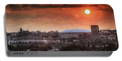 Syracuse Sunrise Over The Dome Portable Battery Charger
