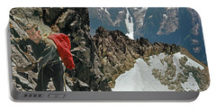 T-04403 Walt Buck Sellers On First Ascent Of Mt. Torment Portable Battery Charger