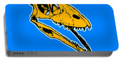 T-rex Graphic Portable Battery Charger by Pixel  Chimp