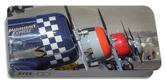 T6 Flight Line At Reno Air Races Portable Battery Charger