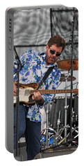 Tab Benoit Plays His 1972 Fender Telecaster Thinline Guitar Portable Battery Charger