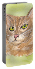 Tabby With Attitude Portable Battery Charger