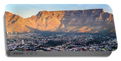 Portable Battery Charger featuring the photograph Table Mountain by Alexey Stiop