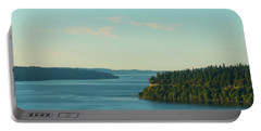 Tacoma Narrows And Commencement Bay II Portable Battery Charger