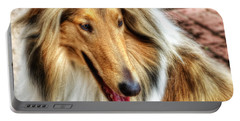 Taffy Collie Portable Battery Charger