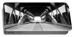 Taftsville Covered Bridge Portable Battery Charger by Greg Fortier