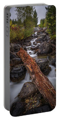 Taggert Creek Waterfall Log Portable Battery Charger