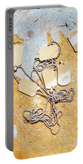 Tags Of War Portable Battery Charger by Jorgo Photography - Wall Art Gallery