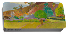 Tahitian Landscape, 1891.  Portable Battery Charger