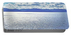 Tahoe From The East Shore Portable Battery Charger