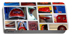 Tail Light Collage Number 1 Portable Battery Charger