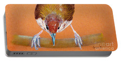 Tailor Bird Portable Battery Charger by Jasna Dragun