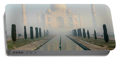 Taj Mahal At Sunrise 02 Portable Battery Charger