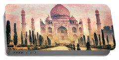 Taj Mahal Portable Battery Charger