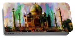 Taj Mehal 009 Portable Battery Charger