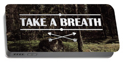 Take A Breath Portable Battery Charger