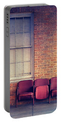 Portable Battery Charger featuring the photograph Take A Seat by Trish Mistric