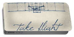 Take Flight Portable Battery Charger by Brandi Fitzgerald