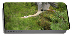 Portable Battery Charger featuring the photograph Take Off by Shari Jardina