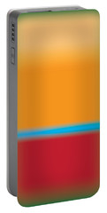 Tall Abstract Color Portable Battery Charger