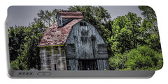 Portable Battery Charger featuring the photograph Tall Barn by Ray Congrove