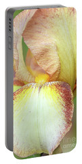 Tall Bearded Iris Patrice Portable Battery Charger
