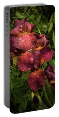 Tall Bearded Iris Warrior Portable Battery Charger