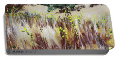 Tall Grass. Late Summer Portable Battery Charger