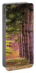 Tall Pines Standing Guard Portable Battery Charger