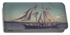 Tall Ship - 4 Portable Battery Charger