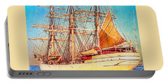 Tall Ship Portable Battery Charger