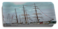 Tall Ships Portable Battery Charger