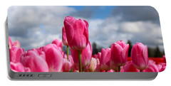 Tall Standing Tulip Portable Battery Charger