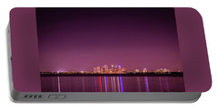Tampa Bay Skyline Portable Battery Charger