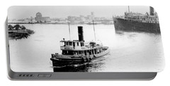 Tampa Florida - Harbor - C 1926 Portable Battery Charger