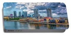 Tampa Florida Skyline Portable Battery Charger
