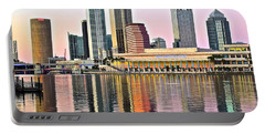 Tampa In Vivid Color Portable Battery Charger