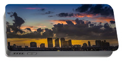 Tampa Sunset Portable Battery Charger