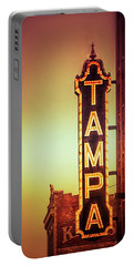Portable Battery Charger featuring the photograph Tampa Theatre by Carolyn Marshall