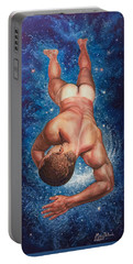 Tan Lines In Space Portable Battery Charger