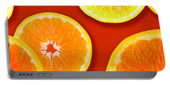 Tangerine Tango Portable Battery Charger by Tara Hutton