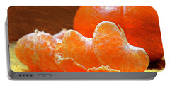 Tangerines Orange Oil Painting Portable Battery Charger