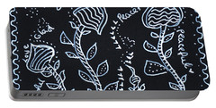 Tangle Flowers Portable Battery Charger