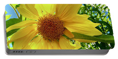 Tangled Sunflower Portable Battery Charger