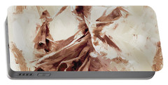 Portable Battery Charger featuring the painting Tango Dance 9910j by Gull G