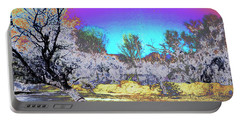 Tanque Verde Wash Abstract Portable Battery Charger