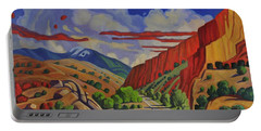 Taos Gorge Journey Portable Battery Charger