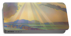 Taos Gorge God Rays Portable Battery Charger